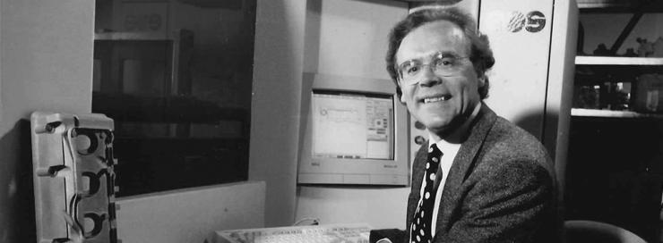 EOS Founder Dr. Hans Steinbilcher 1989