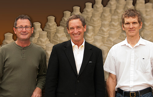 The founders of 3D Printing of Metal and SLS: Deckard, Beaman, and Forderhase