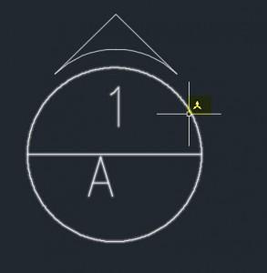 """Annotative """"A"""" symbol"""