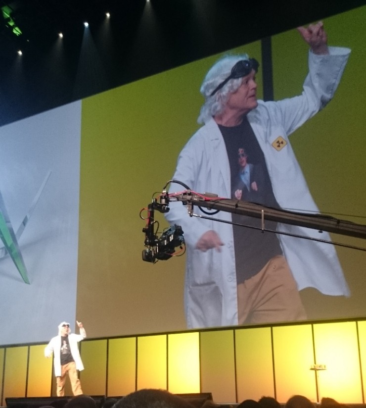Autodesk University 2014 KeyNote Entertainment