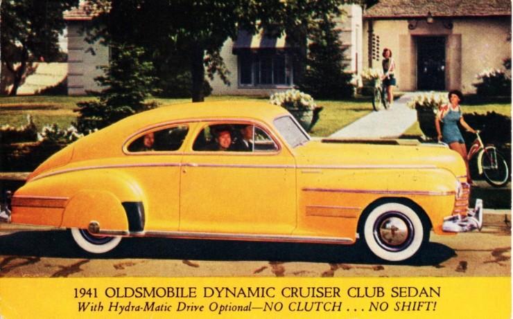 1941 Oldsmobile Dynamic Cruiser Club Sedan