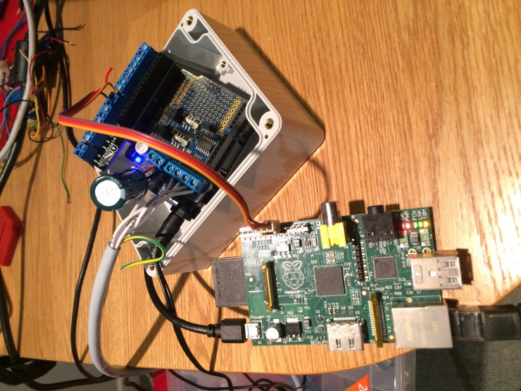 Arduino and Raspberry Pi