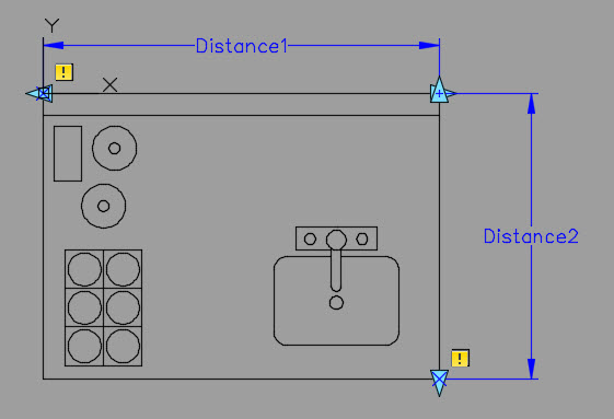 Dynamic Blocks Linear Parameters