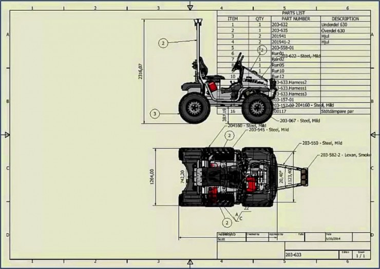 Autodesk Inventor Drawing Views moved position