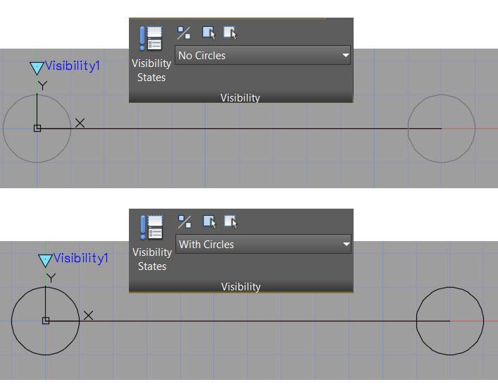 Dynamic Block Visibility - Visibility States