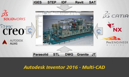 Autodesk Inventor 2016 Now Uses AnyCAD format