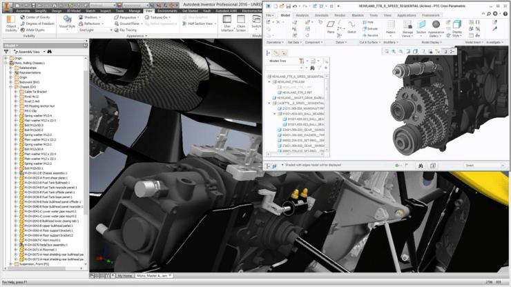 Autodesk Inventor 2016 AnyCAD
