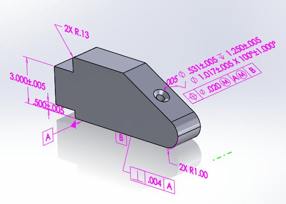 DimXpert - Auto Results