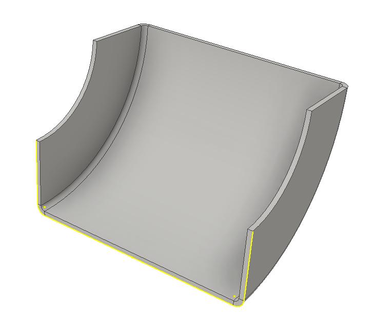 Inventor SM - Contour Roll Base Model