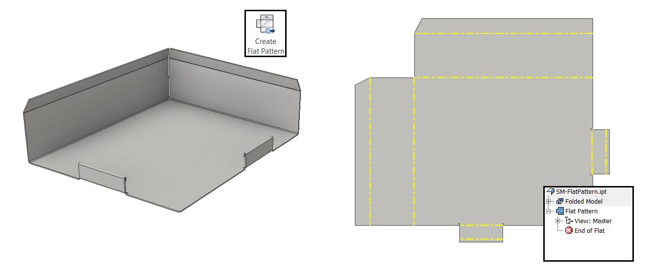 Don T Misjudge The Inventor Flat Pattern