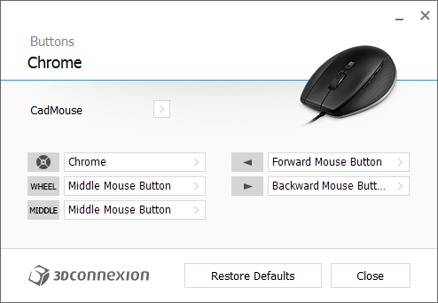 CadMouse - ChromeButtons