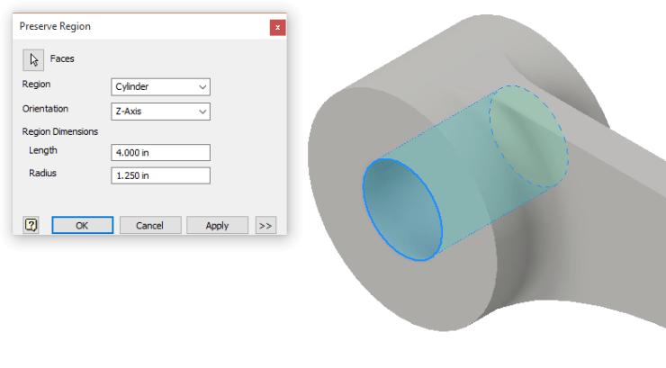 Inventor 2016 R2 - SG Preserve Shape