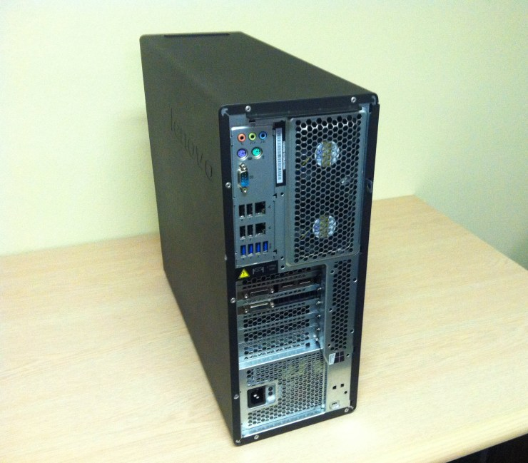 Lenovo ThinkStation P700 Workstation Rear View