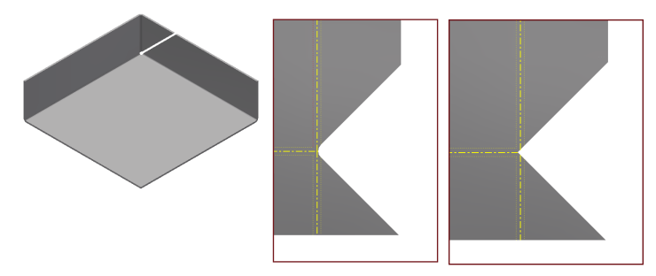 Inventor Sheet Metal 3 Bend Corner
