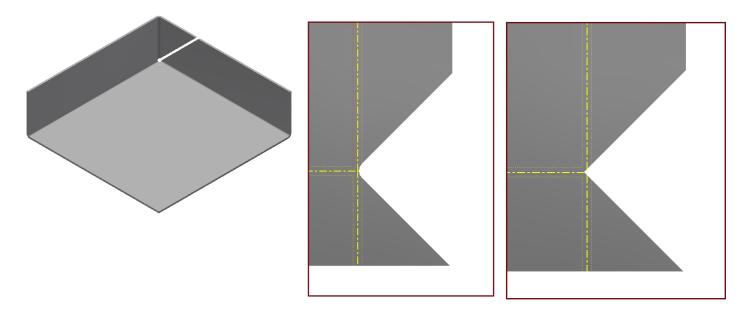Inventor Sheet Metal 3 Bend Corner