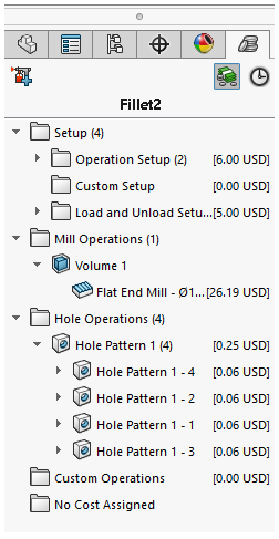 SolidWorks CostingManager