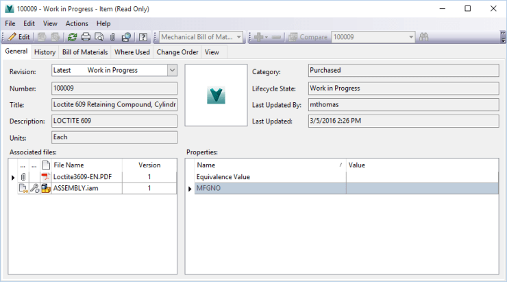 Virtual Component With Vault ITEM