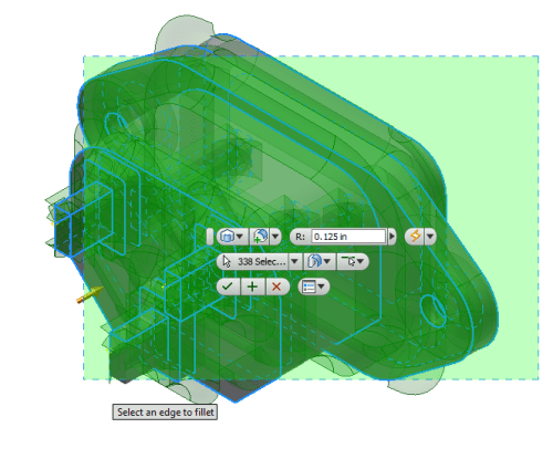 Inventor 2017 R3 Crossing for Features