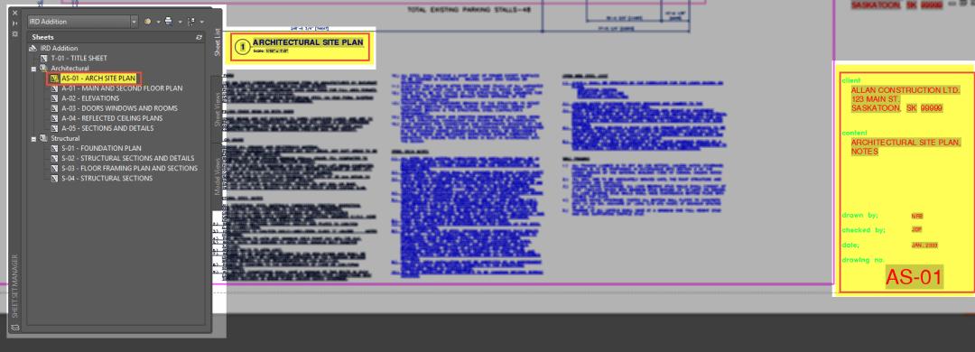 AutoCAD Sheet Sets Smart Callouts