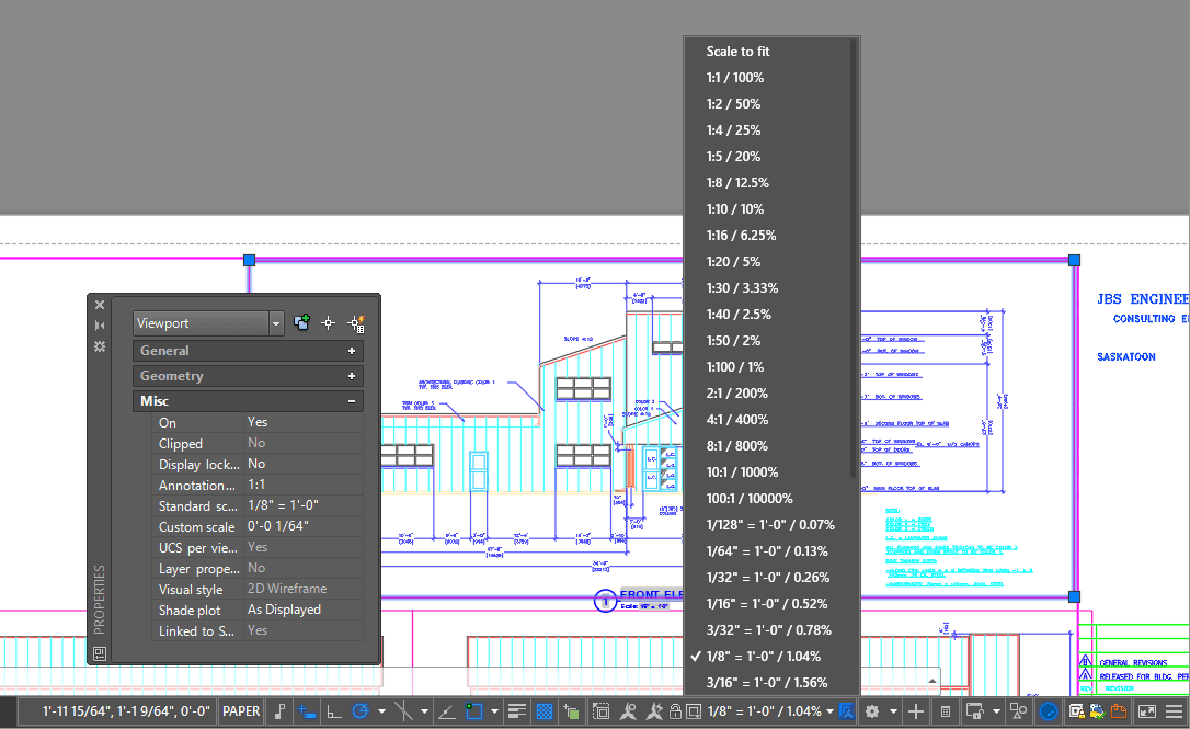 AutoCAD Sheet Set Viewports
