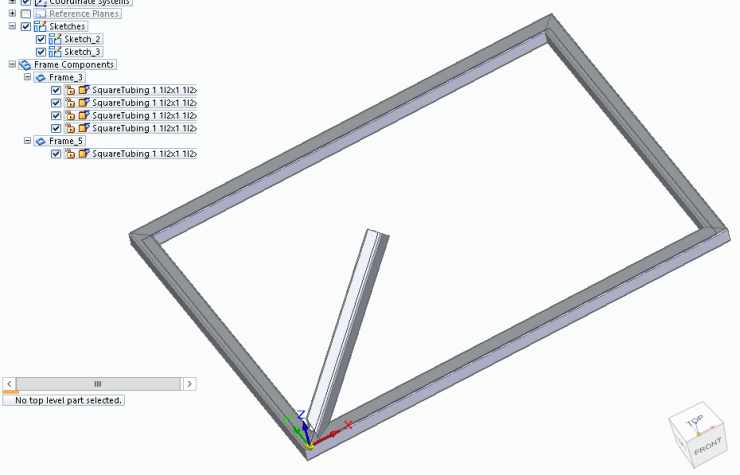 Solid Edge Frame Design