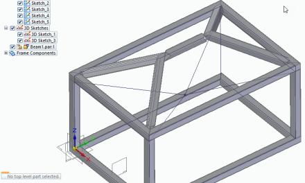 Solid Edge Frame Design for ST10 Part 1
