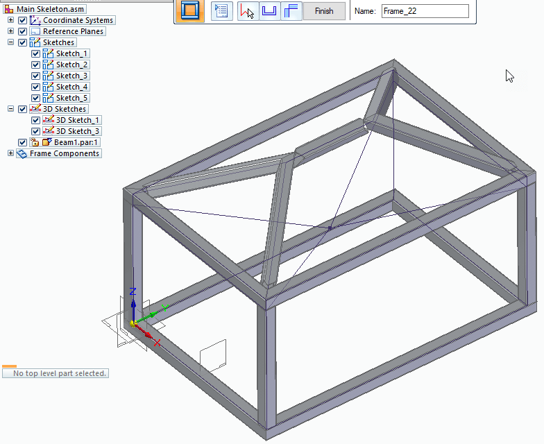 Solid Edge Frame Design for ST10 Part 1