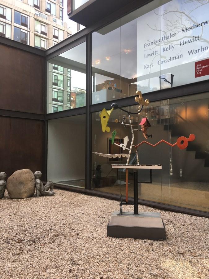 Art In The Courtyard