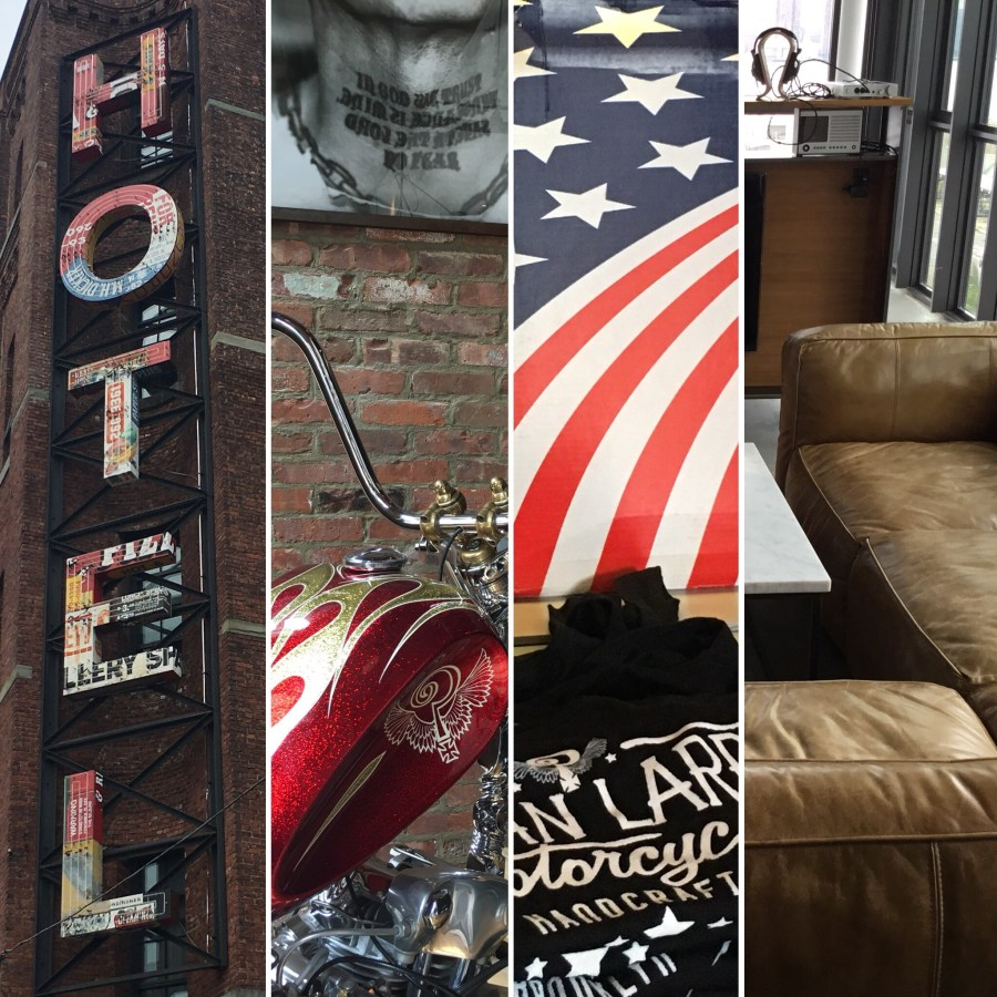 Wythe Hotel x Indian Larry Motorcycles