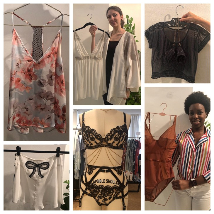 Design and Style Report image, The Lingerie Selection, Violet and Wren, The Giving Bride, Nevaeh, Edge 'O Beyond, Nubian Skin