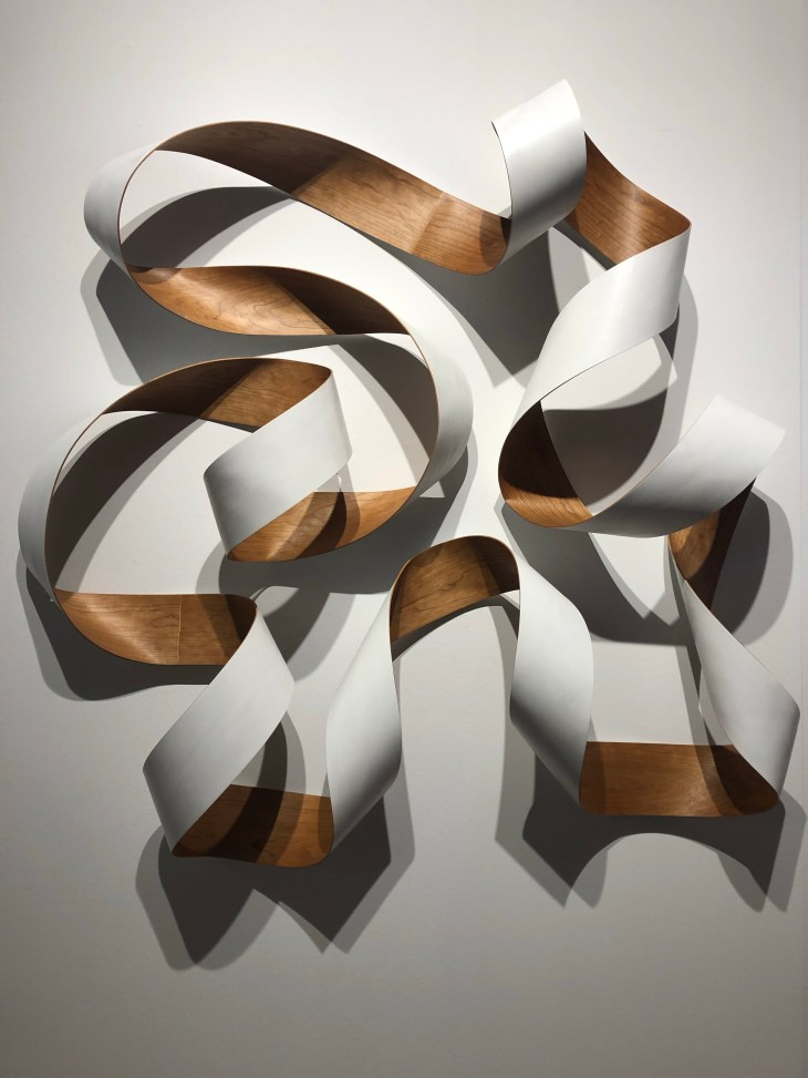 Design and Style Report image, Palm Beach Modern + Contemporary, Jeremy Holmes painted wood sculpture