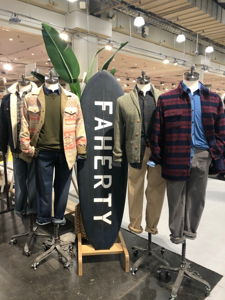 Design and Style Report image, Project/MRKET Show, Faherty