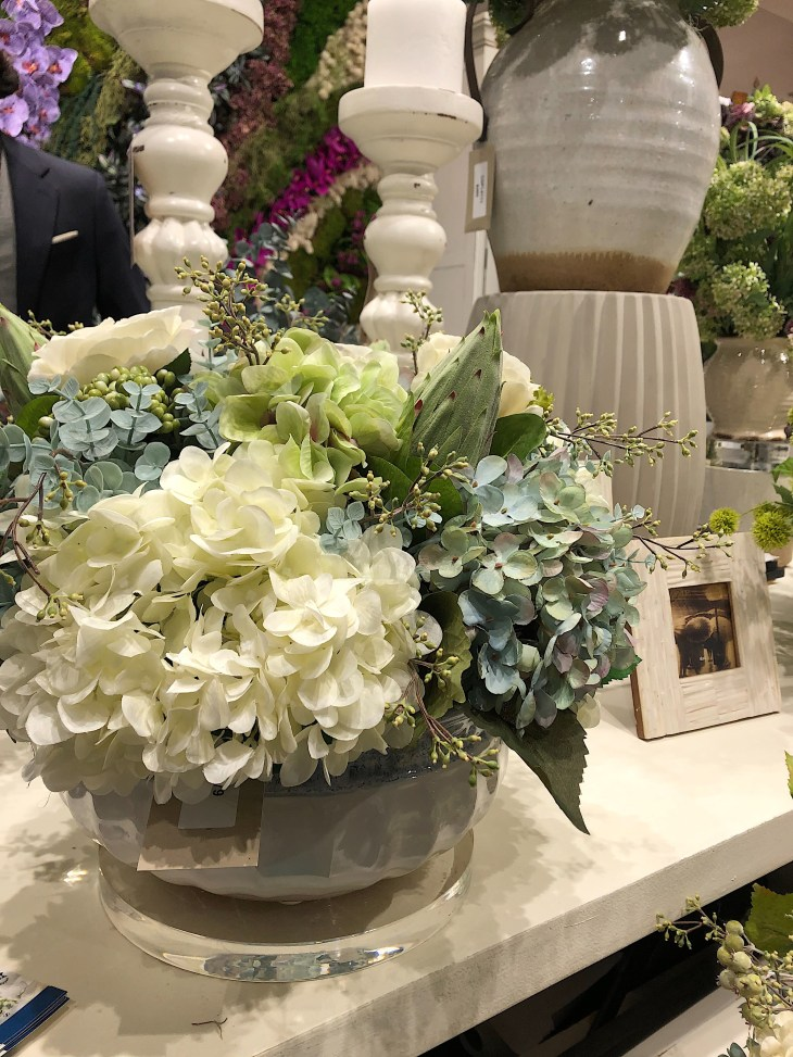 Design and Style Report image, Creative Displays and Designs faux flowers, NY NOW