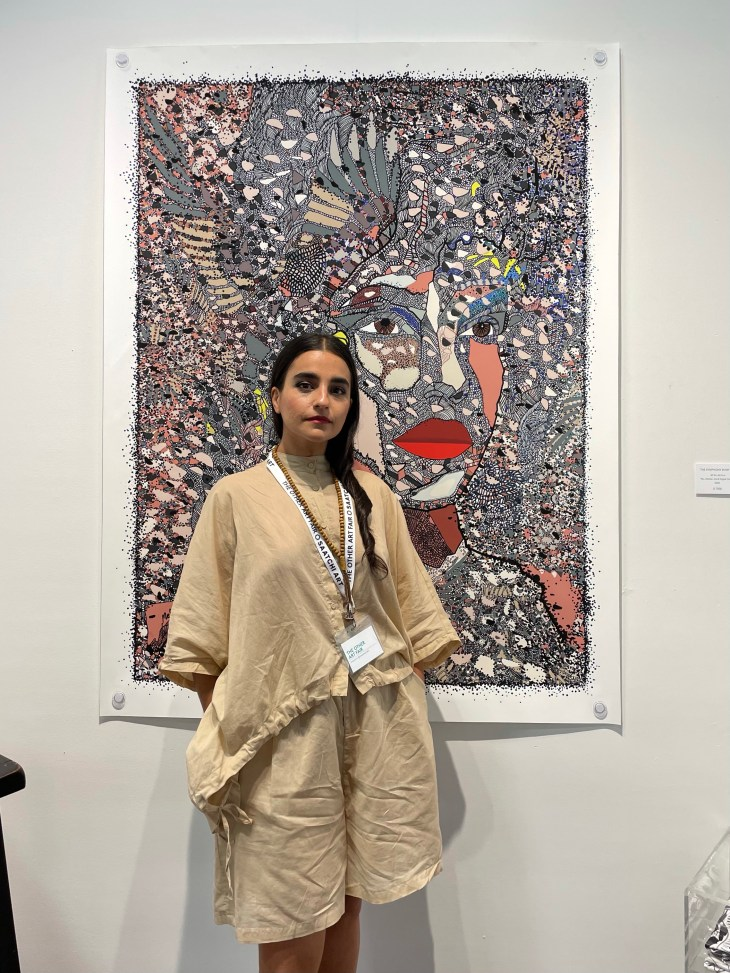 Design and Style Report image, The Other Art Fair Brooklyn, Saatchi Art, Melody Hersaraky