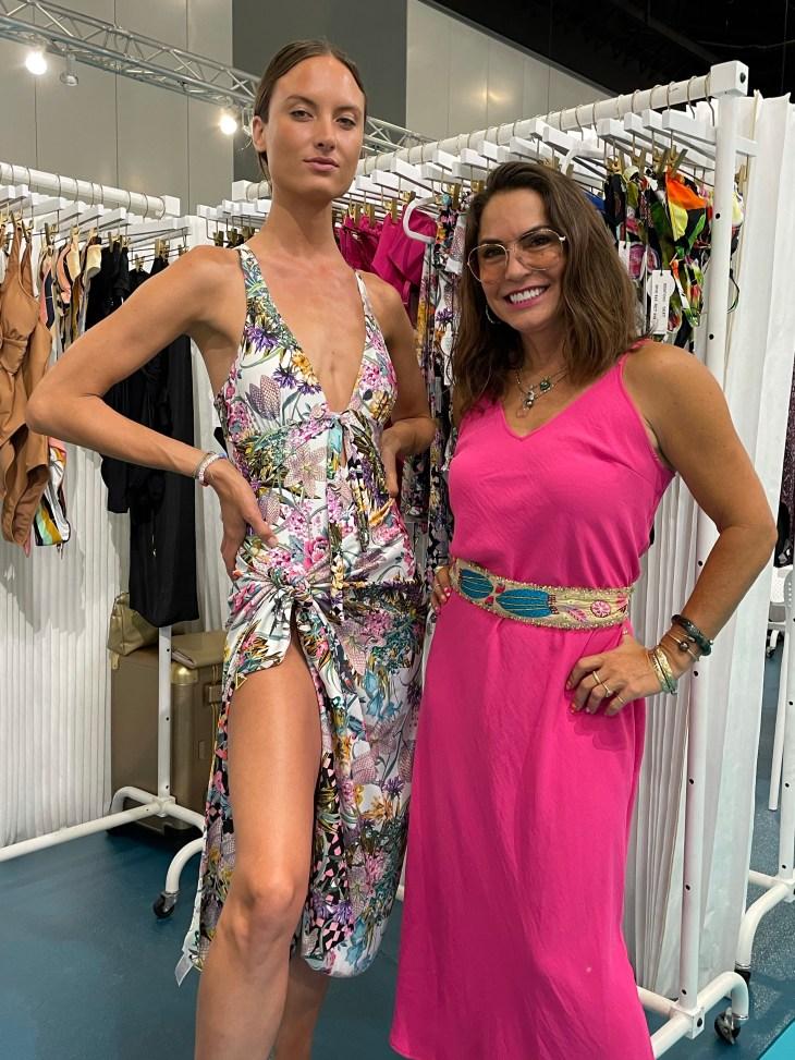 Design and Style Report image, Cabana show Miami Beach Florida, Swiminista Beachwear, designer Andrea Bernholtz