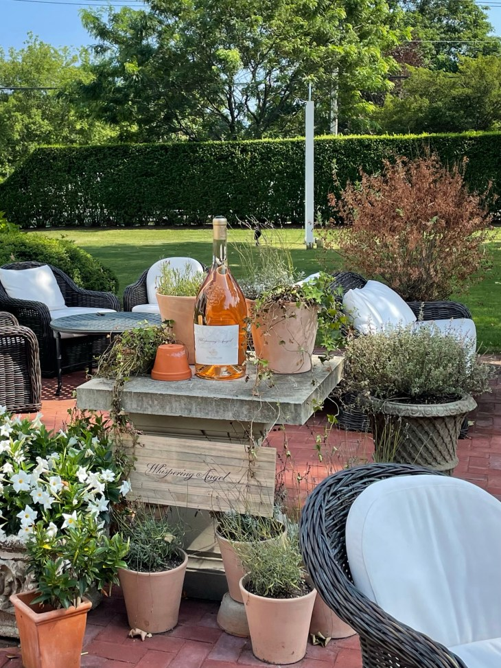 Design and Style Report image, Topping Rose House in Bridgehampton NY, outdoor dining
