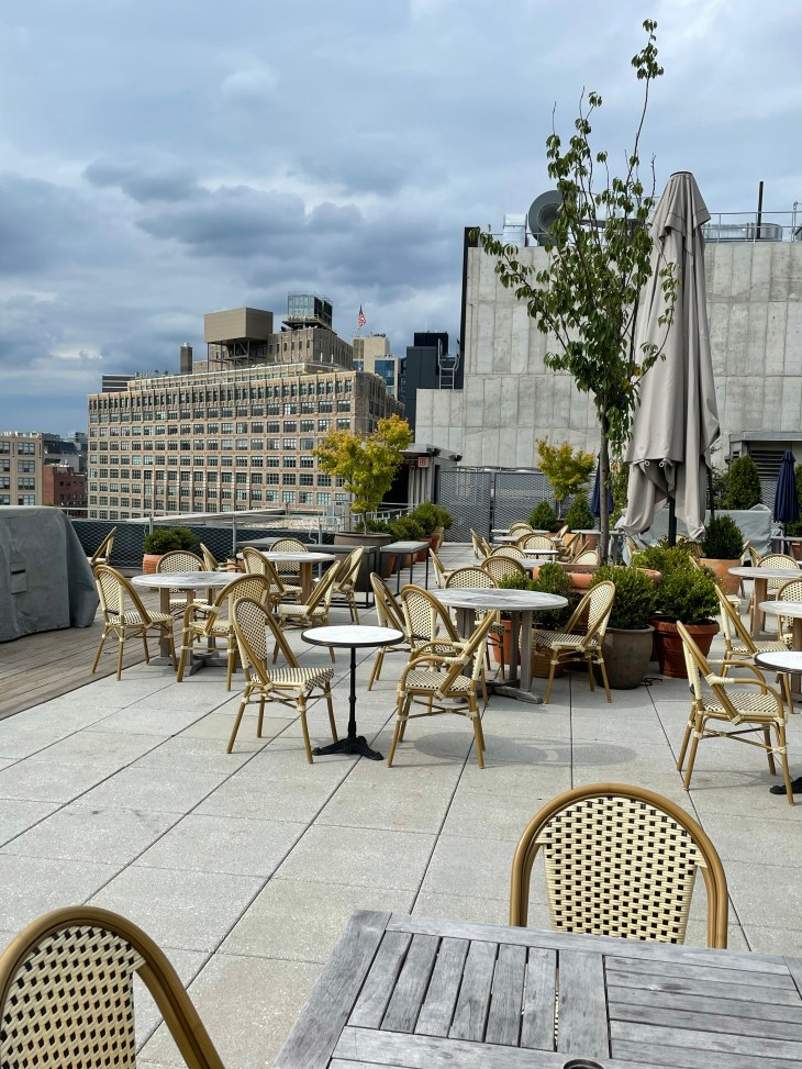 Design and Style Report image, Curve New York, Spring Studios rooftop