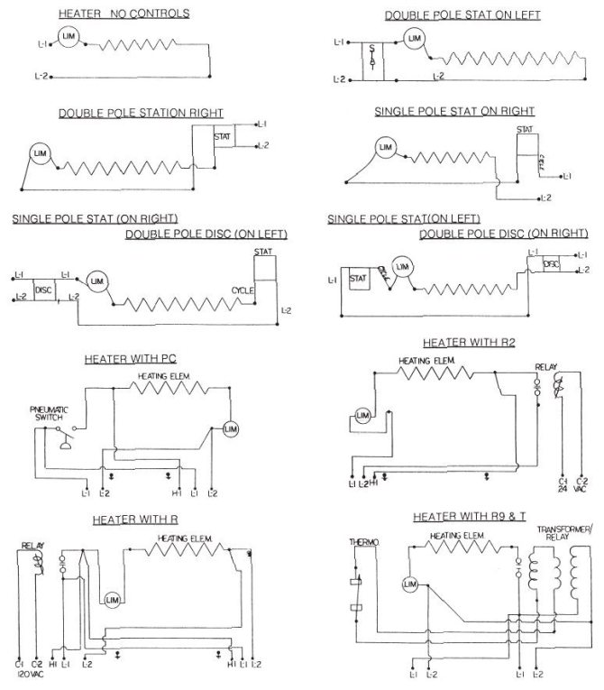 wiring diagrams  design architectural heating