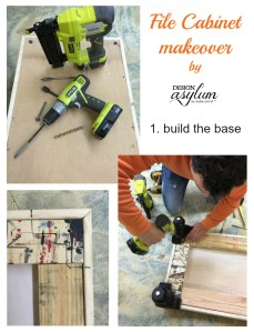 Design Asylum Blog | DIY: File Cabinets into Furniture