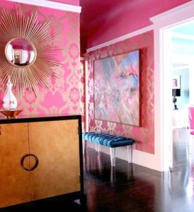 Pink Rooms, All Grown Up | Design Asylum Blog