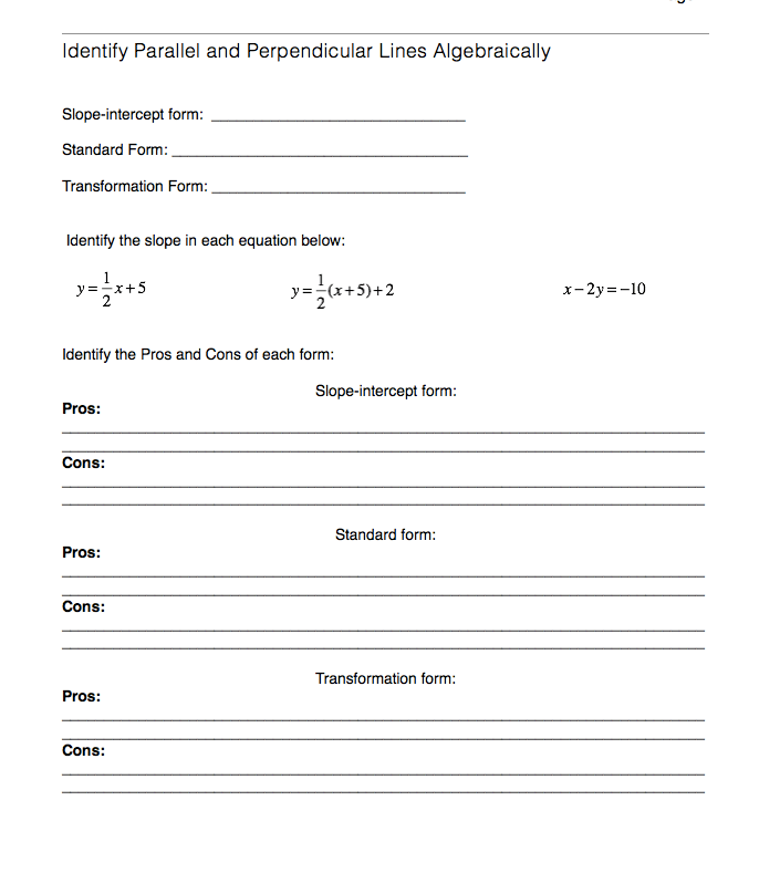 of Slope Intercept Form Practice Worksheets Sharebrowse – Slope Worksheets