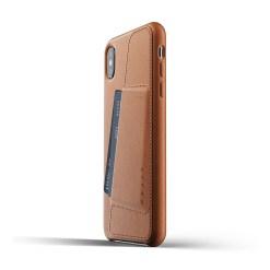 Mujjo Full Leather Wallet Case för iPhone XS Max