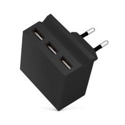Usbepower HIDE Mini ? Laddningsnav med 3 USB-portar och telefonstativ