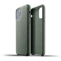 Mujjo Full Leather Case för iPhone 11 Pro - Slate Green