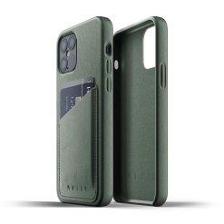 Mujjo Full Leather Wallet Case för iPhone 12/12 Pro