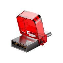 Baseus Red-hat 32GB USB minne med både USB-C och USB-A anslutning