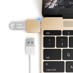 Satechi USB-C Adapter ? Förvandla din 12-tums Mac USB-C port till en USB 3.0 port!