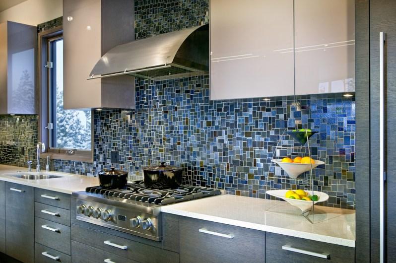 kuchyně mozaika