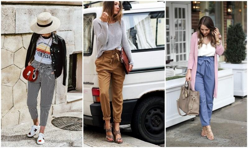 jak se nosí paper bag kalhoty (4)
