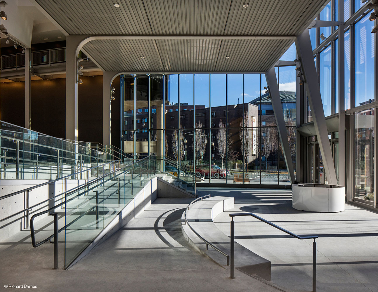 Design And Media Center, Massachusetts College Of Art And